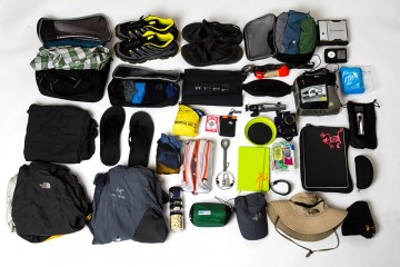 Packing list, travel, gear, what should I pack, packing for vacation, packing for a year of travel, RTW packing list, The North Face, Patagonia, Clothing, Shopping for vacation, Sea to Summit, Kelty, iPad, Quicksilver, Under Armor, Columbia Clothing, Eagle Creek, Packing Cubes, Osprey Packs, Macbook Air, Canon G15, Arcteryx, Mountain Hardwear, Patagonia R2, Canon Cameras, Salomon Synapse, Chacos,