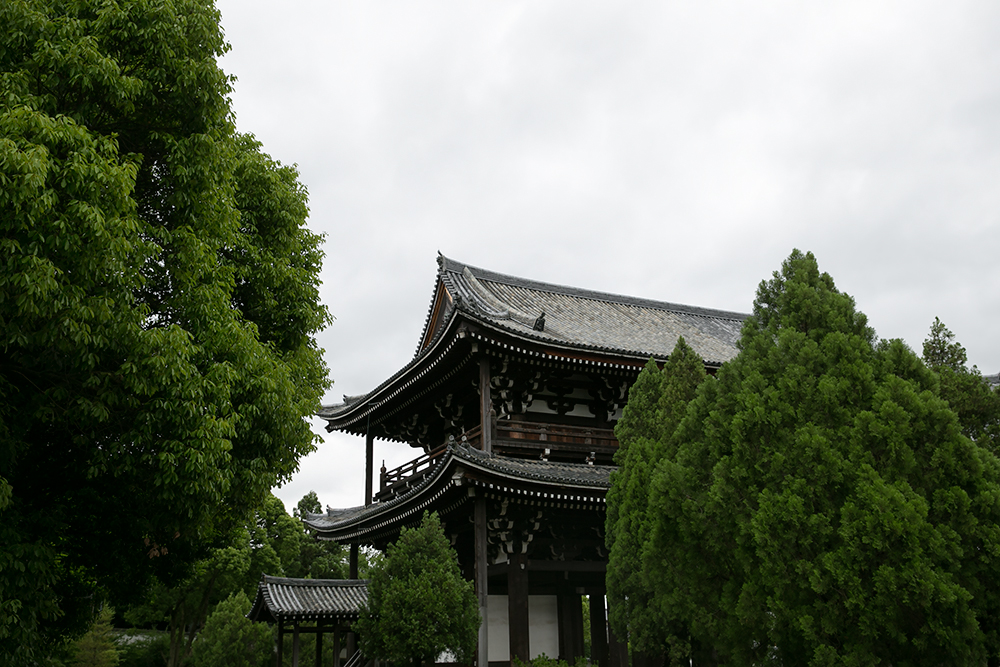 Visiting historic Kyoto, Japan. Temples in Kyoto.