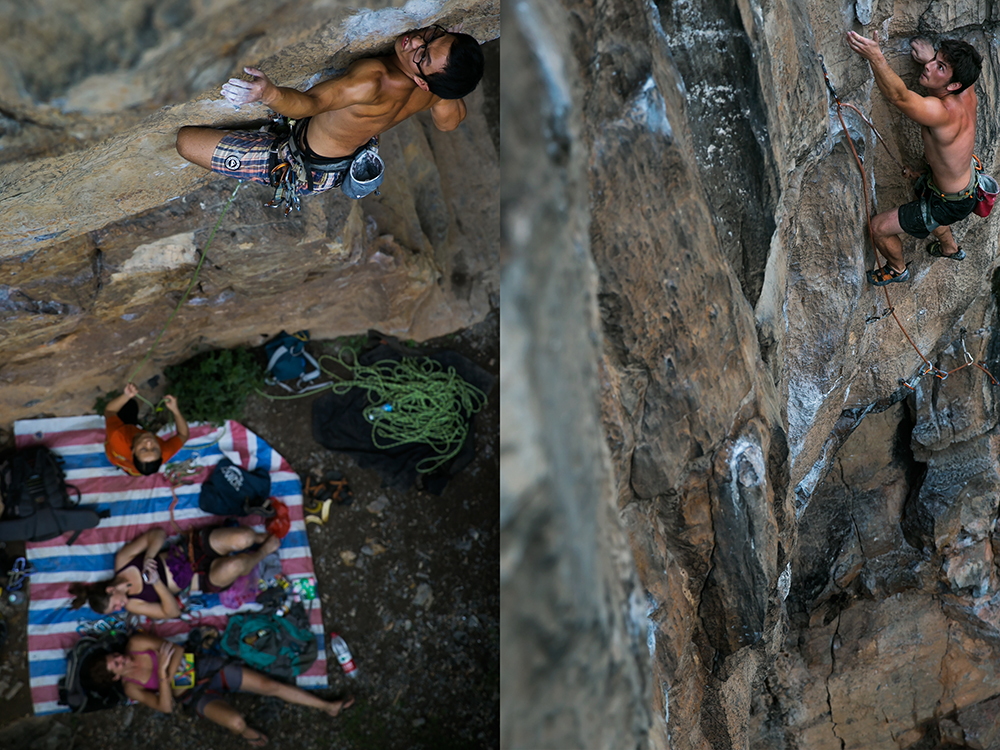 A Day Climbing In Yangshuo One World One Year