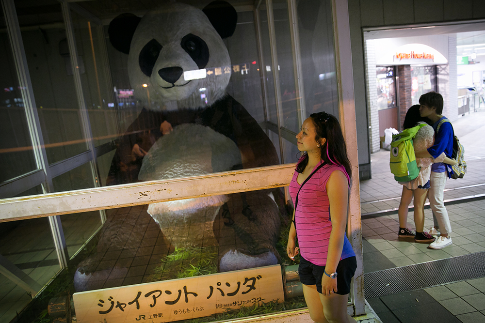 Britnee found her giant panda sooner than expected.