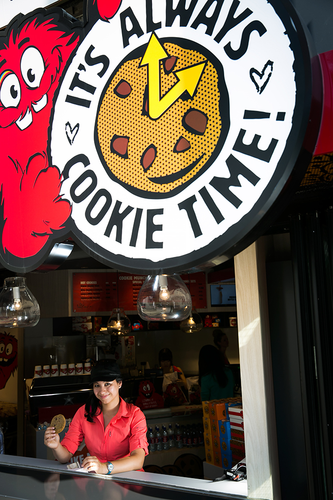 Britnee's favorite stop of the year? Cookie Time, Tokyo, Japan.