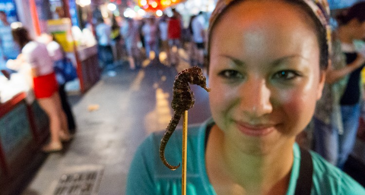 China, Travel, Strange Food, What to eat in China, Chinese Food, Donghuamen, Donghuamen Night Market, Beijing