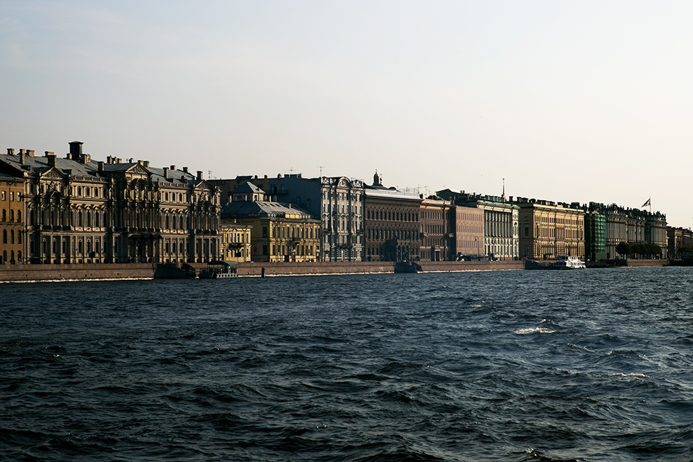 During our short stay in Saint Petersburg, Russia, we visited the Hermitage, (Winter Palace), Peter and Paul Fortress, Church of Our Savior on Spilled Blood, the flea market at Udelnaya and took a lovely, evening boat ride.