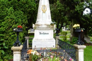 Beethoven in Vienna Cemetery