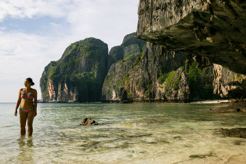 Maya Bay, Thailand, travel, Ko Phi Phi, Phi Phi Island, Full Moon Party, snorkeling, SCUBA diving in Thailand, what to see in Thailand,