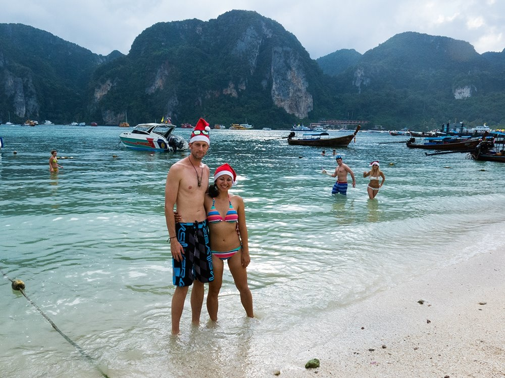 Christmas at Ko Phi Phi