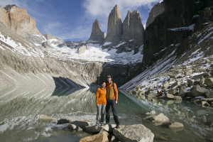 Mark and Britnee in Torres Del Paine