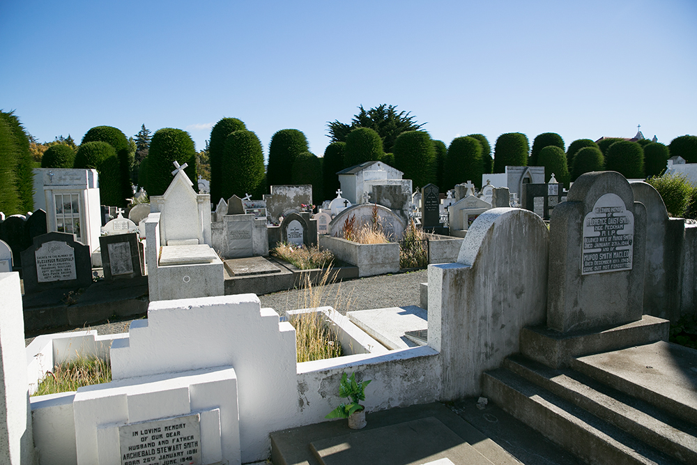 The cemetery in Punta Arenas is famous for its beauty.