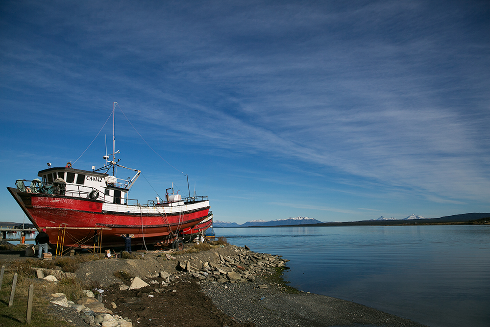 Puerto Natales, Chile. Our jump-off point for Torres del Paine.