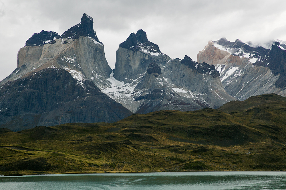 Beautiful Torres del Paine, Chile.