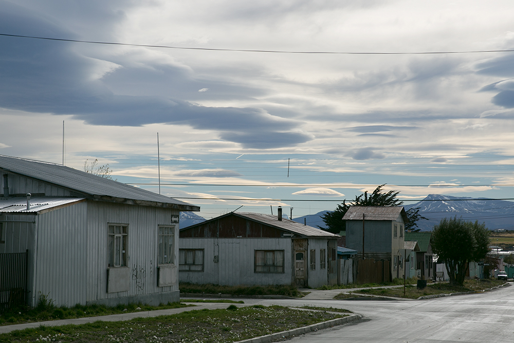Back in Puerto Natales, Chile, where we stayed for a week to get rested and start working on our resumes! The town was pretty quiet at this time of year.