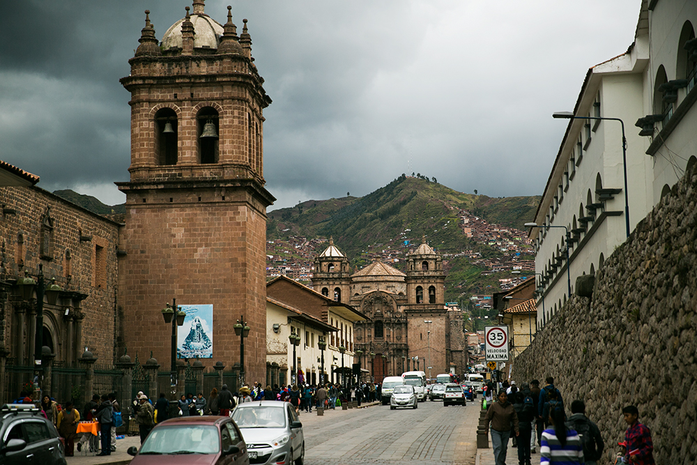 Exploring beautiful Cusco, Peru.