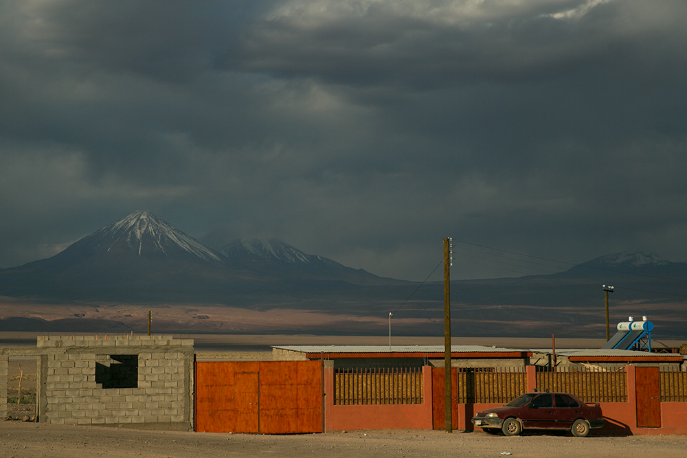 Our neighborhood in San Pedro de Atacama, Chile.