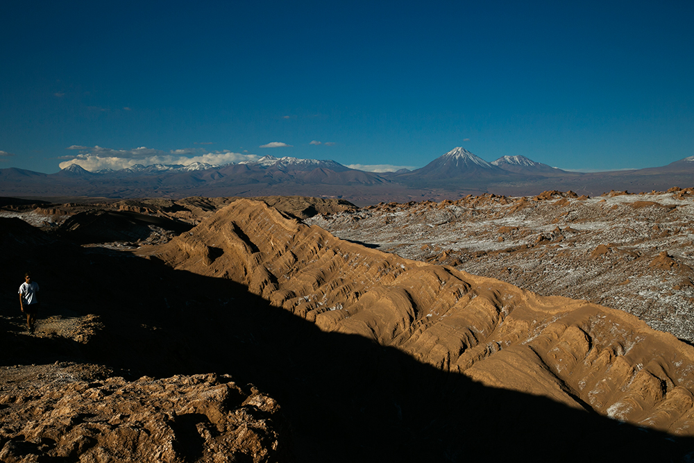 Valle de la Luna outside San Pedro de Atacama, Chile.
