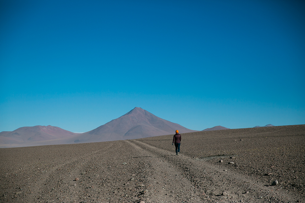 Britnee and I took a long walk that evening despite suffering headaches from the altitude. We were sleeping over 4,500 meters on our first night on the crossing to Uyuni, Bolivia.