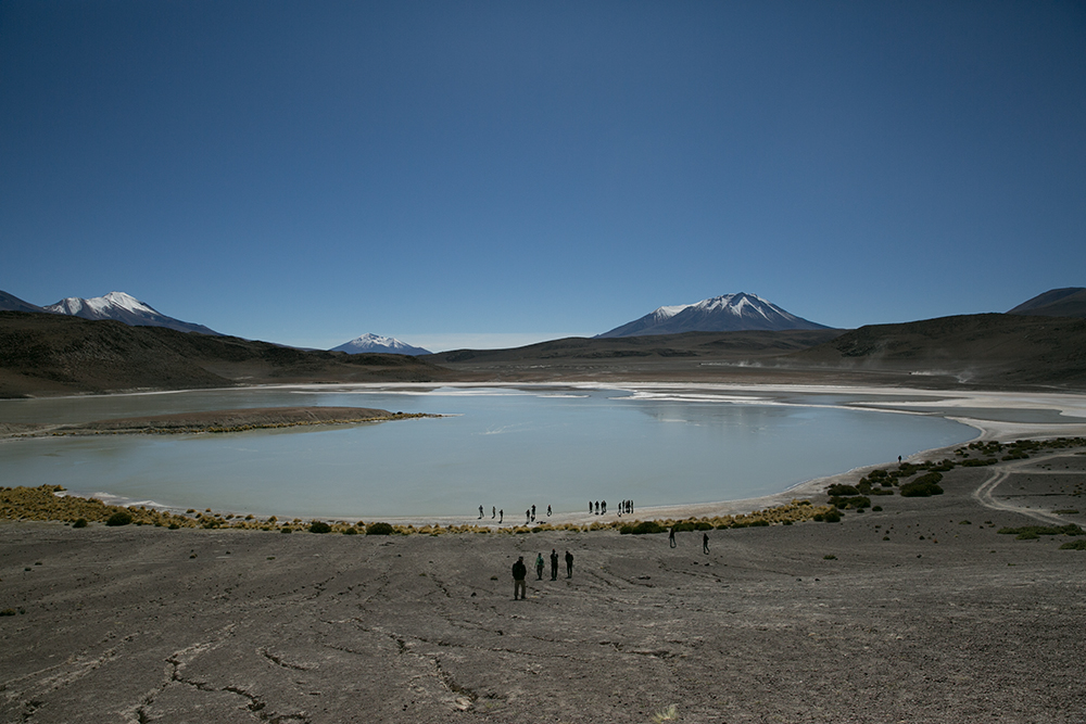 Once again we stood in awe of the out-of-this-world landacapes we passed through along the way to Uyuni, Bolivia.