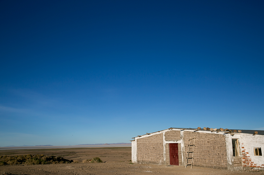 Our salt hotel where we slept on night two of our crossing to Uyuni, Bolivia.