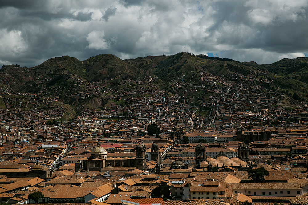 The city of Cusco, Peru, which we enjoyed exploring on our last days in Peru.