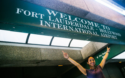 travel, Fort Lauderdale International Airport, Miami, returning home, coming home,