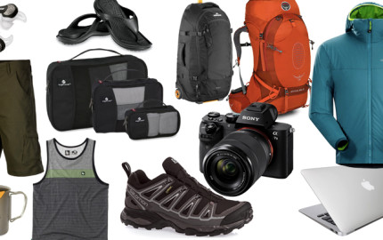Packing List, Round the World, What to Pack for a trip around the world, vacation, travel, gear, packing list
