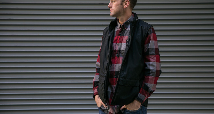The Q.U.E.S.T. Vest from SCOTTeVest for traveling.