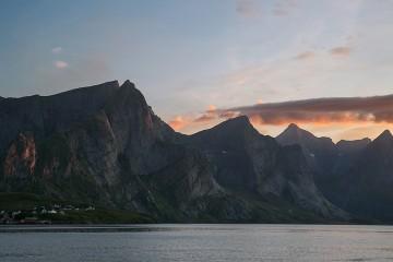 Lofoten, Norway, Moskenes, Hamnøy, Bodø, Visit Norway, Travel, Backpacking, Scandinavia, ferry to Moskenes, hiking in Norway, fishing, Cotopaxi, Gear For Good, Fjord, Reinefjord, Mount Reinebringen
